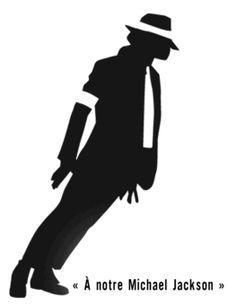 Michael Jackson silhouette