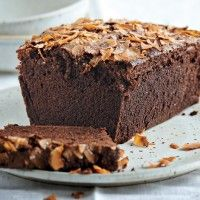 Chocolate Buttermilk Cake with Chocolate-Pecan Icing Recipe - Bon Appétit