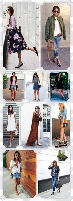 Love top row looks and bottom two rows looks and all the lace up flats! Ballerinas Outfit, Ballet Flats Outfit, Lace Up Ballet Flats, Fall Winter Outfits, Summer Outfits, 30 Outfits, Tie Up Flats, Spring Summer Fashion, Autumn Fashion