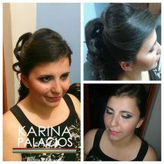 Peinado Mariate Makeup Karina