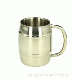 Beer mug IRON CHILLER (double wall)