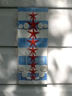 AHOY MATEY.....Patriotic Starfish Anchor by My Honeypickles on Etsy