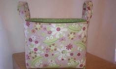 Cute Frog Fabric Basket