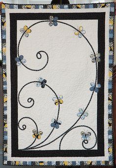 Madrona Road Challenge by Kristindl, via Flickr  Love the simplicity ... and the butterflies!