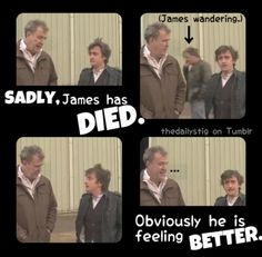James May is a zombie. Little known fact.