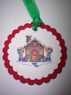 Gingerbread House Set of 6 by mreguera on Etsy, $4.00