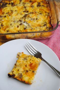 If you need a make ahead breakfast for school mornings, a Christmas morning brunch, or a breakfast to take to a new mom, try this easy breakfast casserole. Make Ahead Breakfast Casserole, What's For Breakfast, Healthy Breakfast Recipes, Healthy Breakfasts, Healthy Recipes, Healthy Options, Healthy Foods, Healthy Eating, Frugal Meals