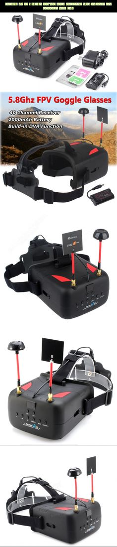 Eachine VR D2 5 Inches 800*480 40CH Raceband 5.8G Diversity FPV Goggles with DVR #eachine #shopping #drone #fpv #technology #gadgets #camera #plans #parts #goggles #products #800 #kit #tech #racing