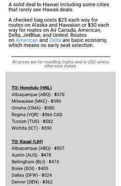 How To Find Flights Hawaii Airports Newsletter Scott S Best