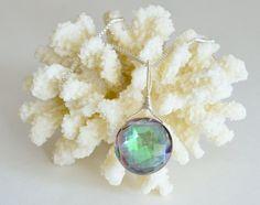 Mystic Topaz Necklace by luxurybyvera on Etsy, www.luxurybyvera.com