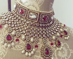 What a gorgeous statement piece by Sokora Jewels!