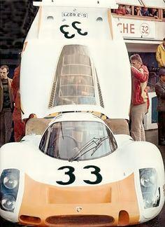 Le Mans 1968. Stommelen - Neerspasch , Porsche 908LH.
