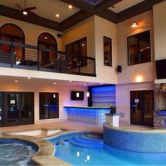 Indoor Pools For Homes small indoor pools with tv for luxury modern home decoration ideas