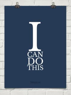 I can do this!  (Re the Bar exam)