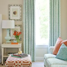 Turquoise And Orange Design, Pictures, Remodel, Decor and Ideas