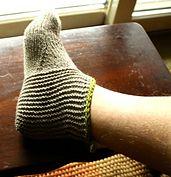Ravelry: Men's Slipper Sock pattern by DoublePointed Designs