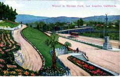 Early 1900's L.A. Postcard. Hagins collection.