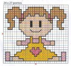 Risultati immagini per ponto cruz barco Cross Stitch For Kids, Mini Cross Stitch, Simple Cross Stitch, Cross Stitch Cards, Cross Stitching, Cross Stitch Embroidery, Cross Stitch Patterns, Crochet Quilt, Crochet Cross