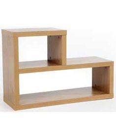 Chicago L Shaped Shelf - Oak.