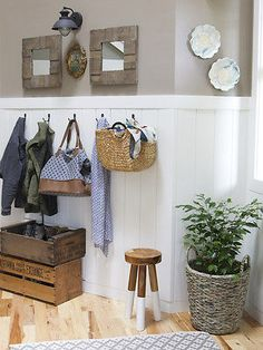 The Inspired Room Paneled Entryway