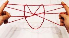Make A Cute Cat String Figure/String Trick - Step By Step