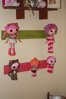 Lalaloopsy display!