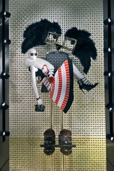 """FENDI, Madison Avenue, New York, """"Alone they're beautiful... together they're magnificent"""", pinned by Ton van der Veer"""