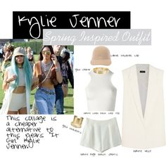 Kylie Jenner Spring Inspired OOTD by itsryanrose on Polyvore featuring Versace, Joseph, Blue Nile, Lele Sadoughi, Jules Smith and STELLA McCARTNEY