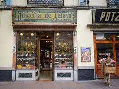 Dulcería de Celaya.  You'd think it's Barcelona, but it's actually Mexico City.