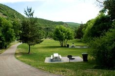 Canyon Glen Park. Provo Canyon River Trail. Nice quite and tucked away. Provo UT. Play Field. Amphitheater. picnic tables.