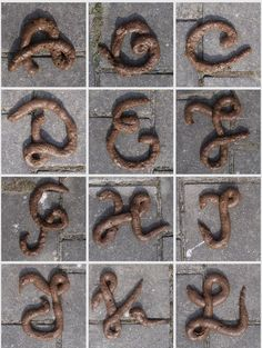 Feces Font by DTM INC, via Behance