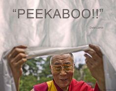 Peekaboo - Dalai Lama