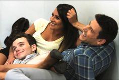 Lea, Cory and Chris