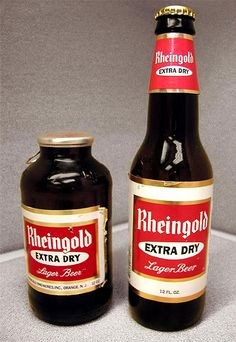 My beer is Rheingold the dry beer,  it's not bitter or sweet,  it's dry tasting treat,  won't you try extra dry  Rheingold beer.