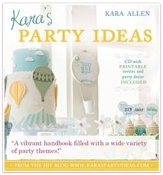 Book - The Place for All Things Party - Kara's Party Ideas