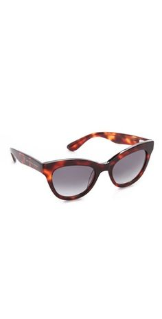 0dfea71457b9 Marc Jacobs Rounded Cat Eye Sunglasses. Need to find a knock off of these.
