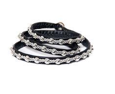 Miessi - Tennarmband i svart Pewter, Designers, Jewelry Making, Bracelets, Charms, Accessories, Inspiration, Shopping, Diy