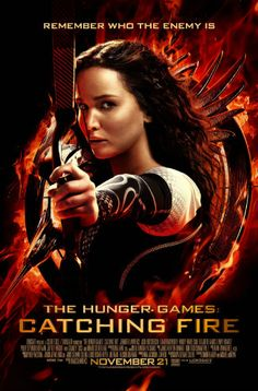 Movie poster for The Hunger Games: Catching Fire. (Click through for review: 3.5 / 5 stars)