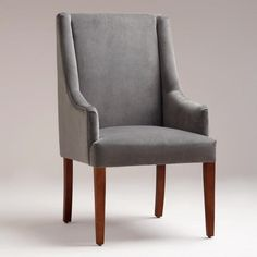 One of my favorite discoveries at WorldMarket.com: Concrete Hayden Dining Chair