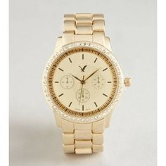 Gold American Eagle watch