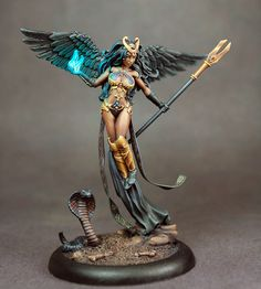 Thief of Hearts # 5 - Female Mage with Staff - Visions in Fantasy - Miniature…