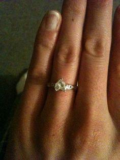 Heart Shaped Diamond Engagement Ring   I Do Now I Don't Heart Shaped Engagement Rings, Engagement Ring Shapes, Diamond Engagement Rings, Heart Shaped Diamond, Heart Shapes, Jewelry, Heart Engagement Rings, Jewlery, Jewerly