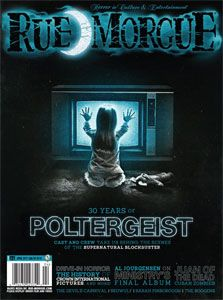Rue Morgue Magazine - Issue #121 April 2012
