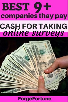 Top 10 Best Survey Sites that actually Pay you for your Opinions - Forge Fortune Online Work From Home, Work From Home Jobs, Earn More Money, Make Money Online, Best Survey Sites, Make Easy Money, Online Income, Budgeting Money, Starting Your Own Business
