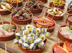 Tapas is very popular in Spain and especially Barcelona, you can get tapas from all over the city with the most popular place being Las Ramblas, here there are many bars and restaurants.