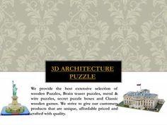 3D Architecture Puzzle
