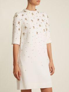 Alexa bead-embellished wool-crepe dress | Goat | MATCHESFASHION.COM