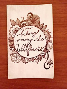 Tom Petty Wildflowers Notebook II