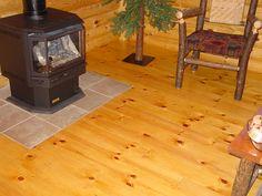 WoodHaven pine flooring