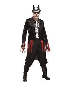 Mr. Bones Skeleton Adult Mens Costume - 349259 |